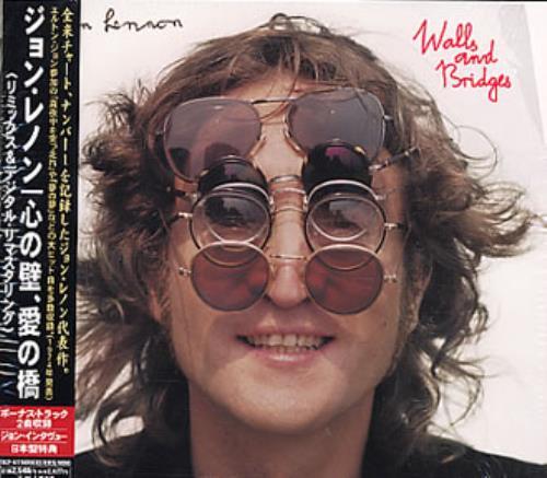 John Lennon Walls And Bridges CD album (CDLP) Japanese LENCDWA345236