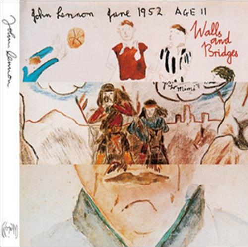John Lennon Walls And Bridges CD album (CDLP) UK LENCDWA518006