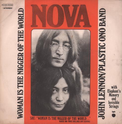 John Lennon Woman Is The Nigger Of The World Italian 7