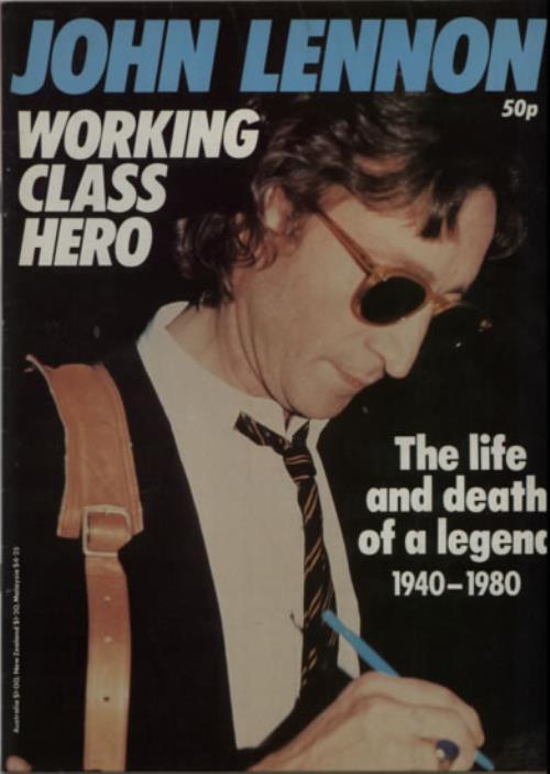 John Lennon Working Class Hero magazine UK LENMAWO599864