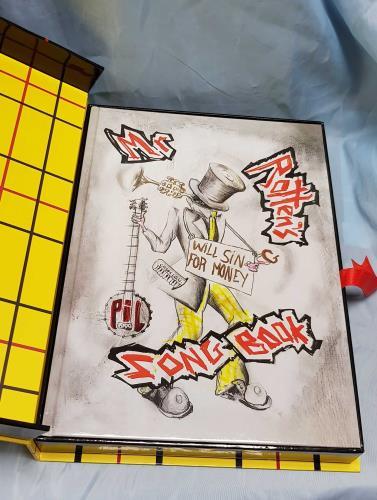 John Lydon Mr Rotten's Songbook book UK LDNBKMR695786