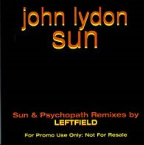 """John Lydon Sun CD single (CD5 / 5"""") UK LDNC5SU87961"""