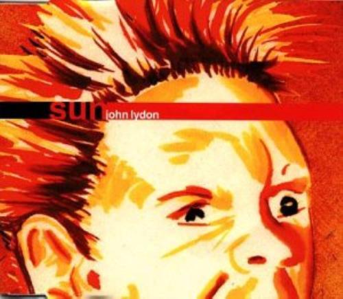 """John Lydon Sun 12"""" vinyl single (12 inch record / Maxi-single) UK LDN12SU90307"""
