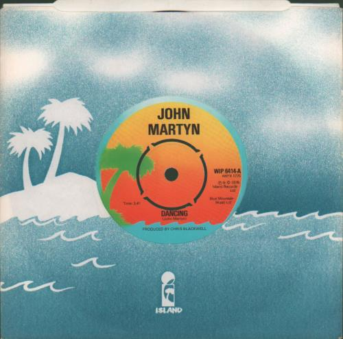 "John Martyn Dancing 7"" vinyl single (7 inch record) UK JMY07DA172562"