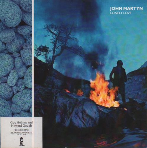 "John Martyn Lonely Love - P/S 7"" vinyl single (7 inch record) UK JMY07LO294191"
