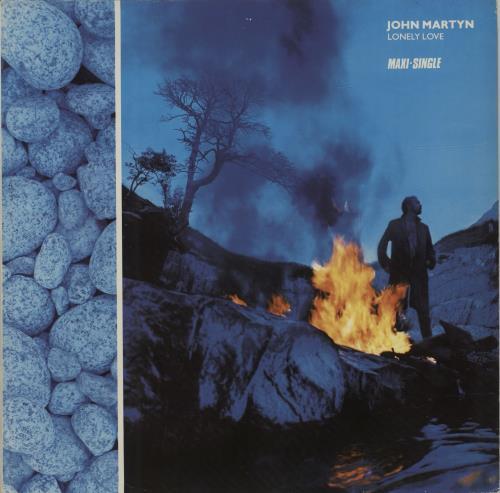 """John Martyn Lonely Love 12"""" vinyl single (12 inch record / Maxi-single) Spanish JMY12LO679603"""