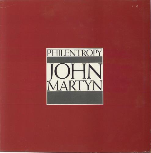 John Martyn Philentropy vinyl LP album (LP record) UK JMYLPPH141737