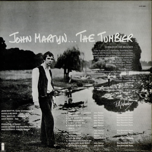 John Martyn The Tumbler 4th Uk Vinyl Lp Album Lp Record