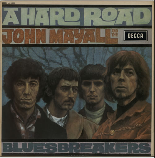 John Mayall A Hard Road vinyl LP album (LP record) UK JOMLPAH157825