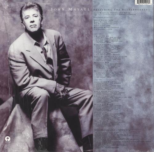 John Mayall A Sense Of Place - 180 gram vinyl LP album (LP record) German JOMLPAS748244