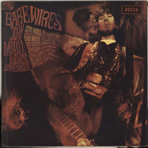 John Mayall Bare Wires - 1st - VG vinyl LP album (LP record) UK JOMLPBA702362