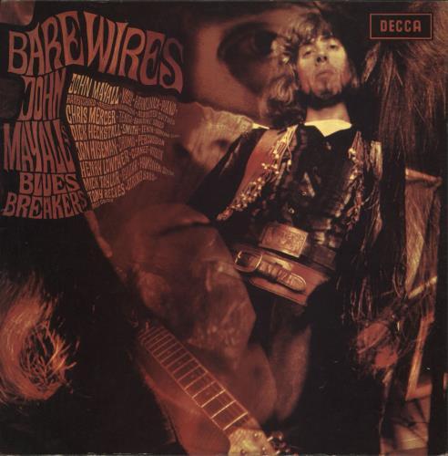 John Mayall Bare Wires - 1st - VG vinyl LP album (LP record) UK JOMLPBA723563