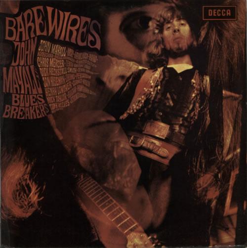 John Mayall Bare Wires - 2nd vinyl LP album (LP record) UK JOMLPBA591298