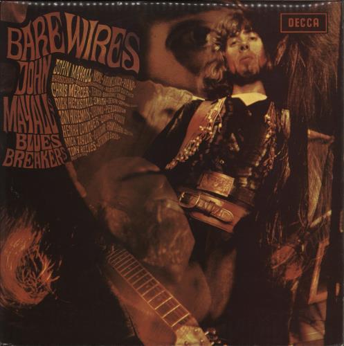 John Mayall Bare Wires - 80s vinyl LP album (LP record) UK JOMLPBA772931