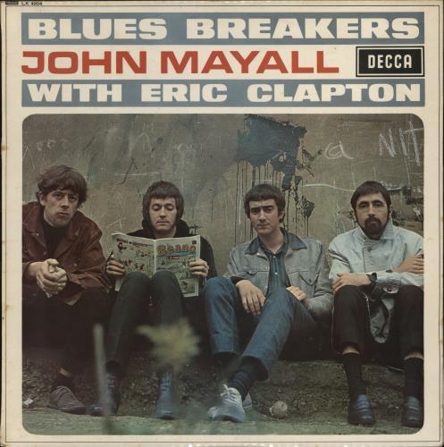 John Mayall Blues Breakers - 1st (B) - WOC vinyl LP album (LP record) UK JOMLPBL768501