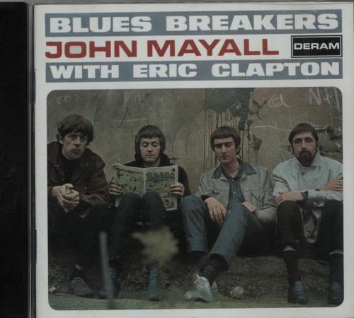 John Mayall Blues Breakers CD album (CDLP) UK JOMCDBL621347