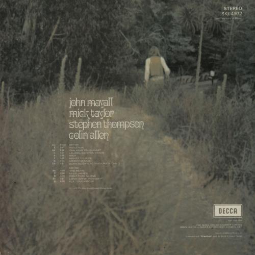 John Mayall Blues From Laurel Canyon - 1st - EX vinyl LP album (LP record) UK JOMLPBL643920