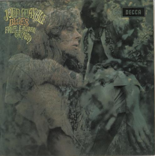 John Mayall Blues From Laurel Canyon - 1st - WOC vinyl LP album (LP record) UK JOMLPBL768503