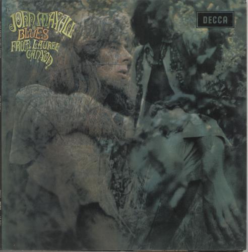 John Mayall Blues From Laurel Canyon - 2nd vinyl LP album (LP record) UK JOMLPBL735885