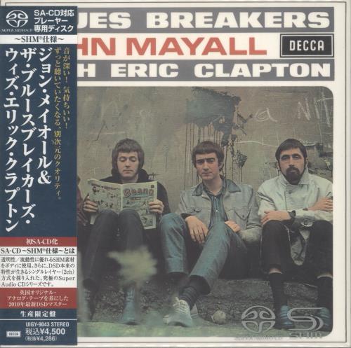 John Mayall Bluesbreakers super audio CD SACD Japanese JOMSABL727889