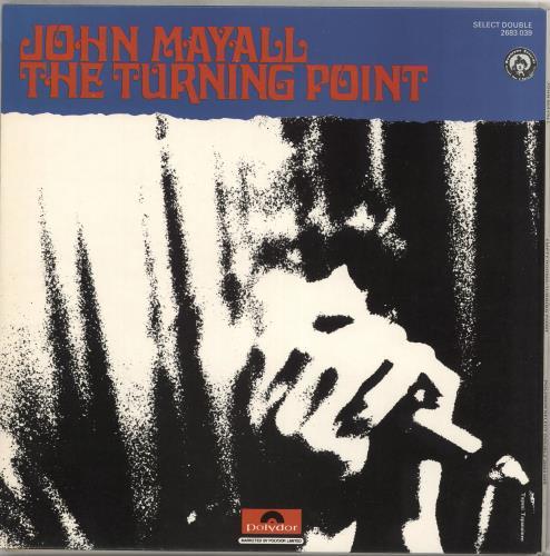 John Mayall Empty Rooms / Turning Point vinyl LP album (LP record) UK JOMLPEM210319