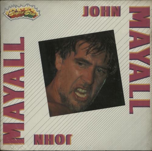 John Mayall John Mayall - Sealed vinyl LP album (LP record) Italian JOMLPJO652287