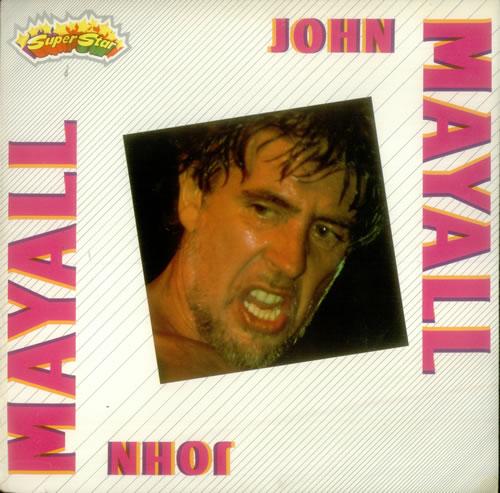 John Mayall John Mayall vinyl LP album (LP record) Italian JOMLPJO546863