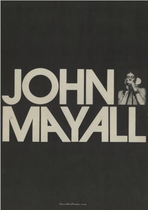John Mayall John Mayall tour programme Japanese JOMTRJO581067