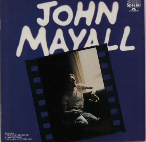 John Mayall John Mayall vinyl LP album (LP record) UK JOMLPJO599266