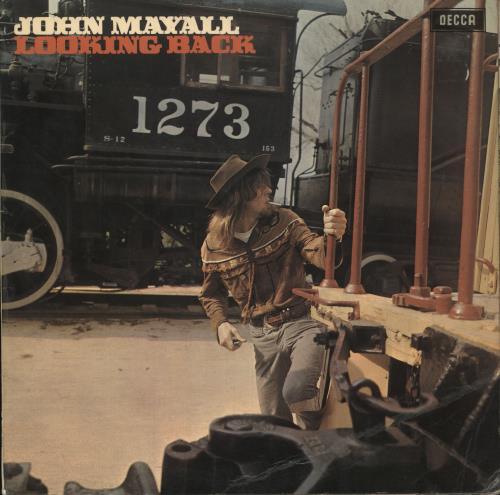 John Mayall Looking Back - 1st - VG vinyl LP album (LP record) UK JOMLPLO749610