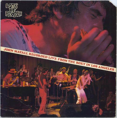 John Mayall Lots Of People vinyl LP album (LP record) US JOMLPLO682126