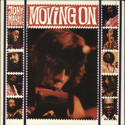 John Mayall Moving On vinyl LP album (LP record) US JOMLPMO181019