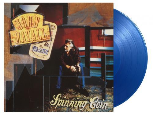 John Mayall Spinning Coin - Transparent Blue Vinyl - Sealed vinyl LP album (LP record) UK JOMLPSP766231
