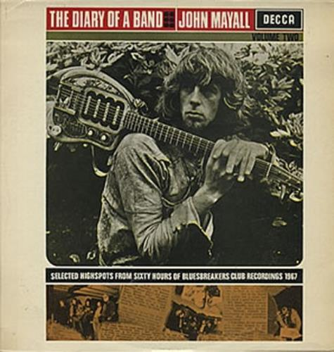 John Mayall The Diary Of A Band Volume Two - 2nd vinyl LP album (LP record) UK JOMLPTH330587