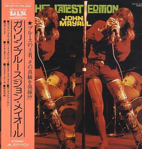 John Mayall The Latest Edition vinyl LP album (LP record) Japanese JOMLPTH209486