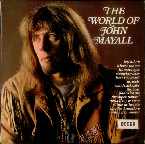 John Mayall The World Of John Mayall - EX vinyl LP album (LP record) UK JOMLPTH147300