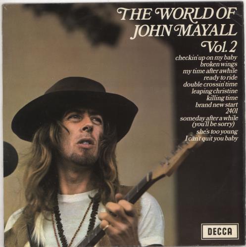 John Mayall The World Of John Mayall Vol. 2 vinyl LP album (LP record) UK JOMLPTH727939