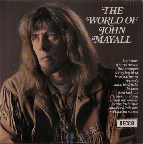John Mayall The World Of John Mayall vinyl LP album (LP record) UK JOMLPTH596194