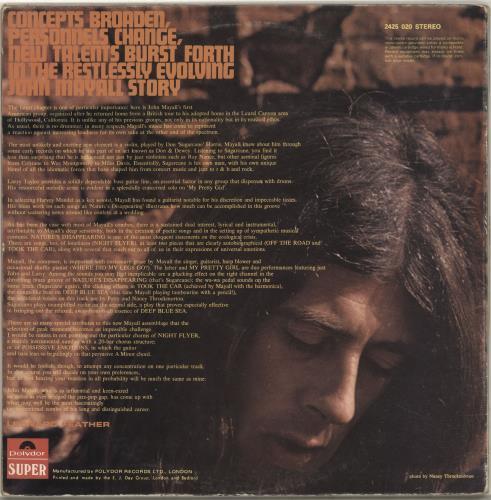 John Mayall USA Union - EX vinyl LP album (LP record) UK JOMLPUS581169