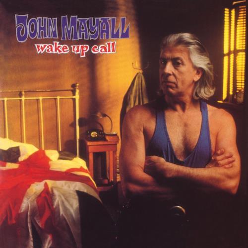John Mayall Wake Up Call - Blue Vinyl vinyl LP album (LP record) UK JOMLPWA771566