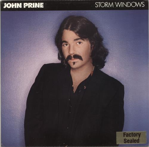 John Prine Storm Windows Us Promo Vinyl Lp Album Lp