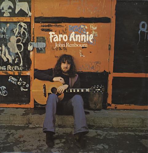 John Renbourn Faro Annie vinyl LP album (LP record) UK JRBLPFA340099