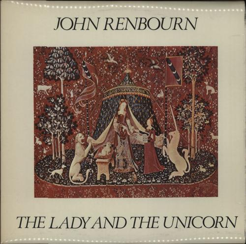 John Renbourn The Lady And The Unicorn - 2nd vinyl LP album (LP record) UK JRBLPTH340101