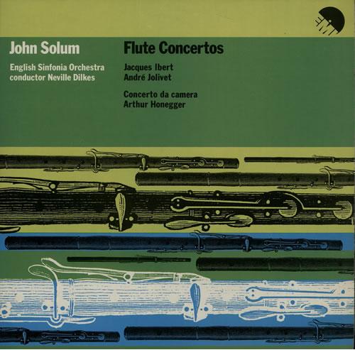 John Solum Flute Concertos vinyl LP album (LP record) UK K6ZLPFL637311