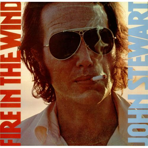John Stewart Fire In The Wind vinyl LP album (LP record) UK JSWLPFI425328