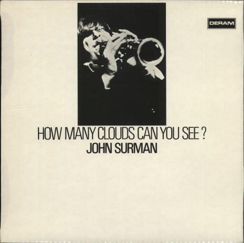 John Surman How Many Clouds Can You See? - 1st vinyl LP album (LP record) UK JDTLPHO702874