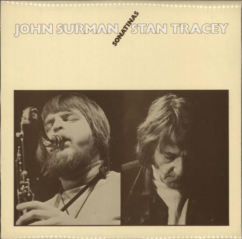 John Surman Sonatinas vinyl LP album (LP record) UK JDTLPSO591549