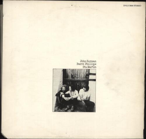 John Surman The Trio 2-LP vinyl record set (Double Album) UK JDT2LTH702923