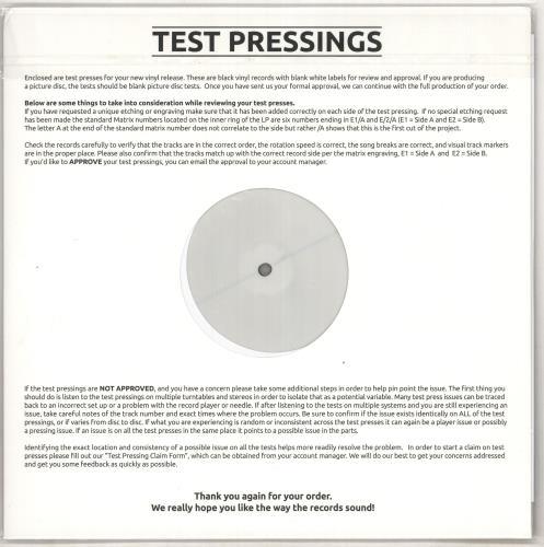 John Surman Where Fortune Smiles - Test Pressing - 180gm Vinyl vinyl LP album (LP record) UK JDTLPWH734458