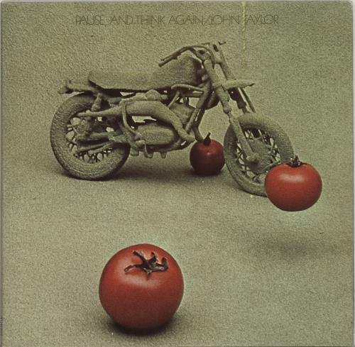 John Taylor (Jazz) Pause, And Think Again vinyl LP album (LP record) UK J47LPPA704878